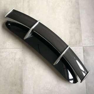MINI Cooper JCW Carbon Fibre Spoiler - Black Base