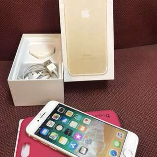 Iphone 7 128 gold second lengkap