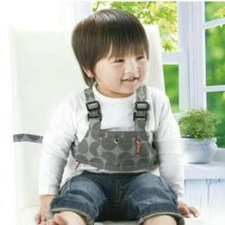 包郵日本RICHELL (2WAY) 兩用學行及坐椅固定帶