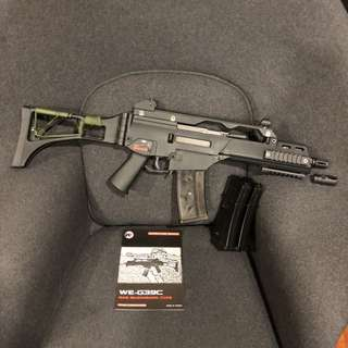 WE G39C (H&K G36C) GBB discontinued product
