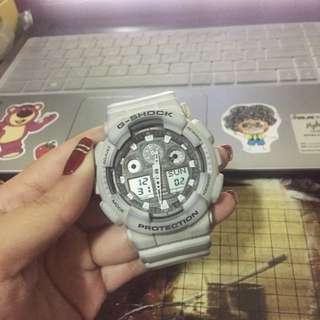 🚚 G-SHOCK 灰色手錶 7成新