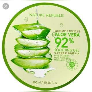 Nature Republic Aloe Vera Gel READY STOCK