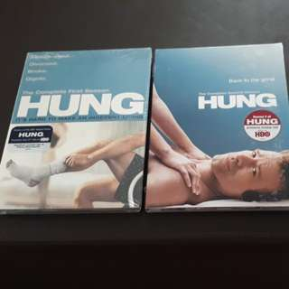 Sealed Dvd Complete Seasons 1 & 2 Hung