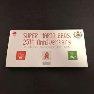 Club Nintendo 25th Anniversary Handkerchief Set