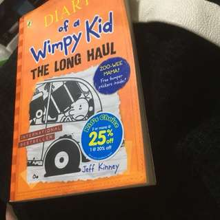 DIARY of a Wimpy Kid(THE LONG HAUL)