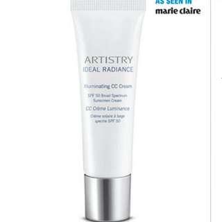 Artistry Ideal Radiance™ Illuminating CC Cream Broad Spectrum Sunscreen SPF 50