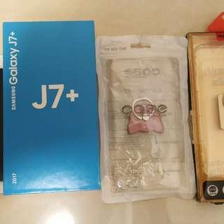 🚚 三星Samsung Galaxy J7+ Plus C710FD 32GB,雙卡,參考蘋果,asus,oppo,htc