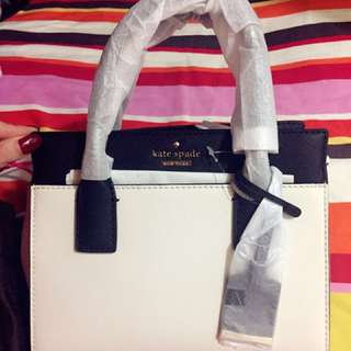 Kate Spade leather bag(100%new 連塵袋100% real)