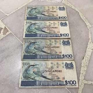 Bird series $100 note