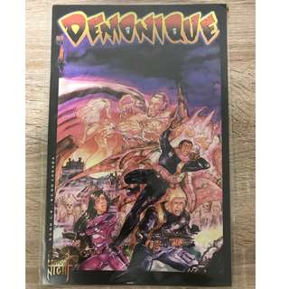 DEMONIQUE #4 (LONDON NIGHT COMICS)