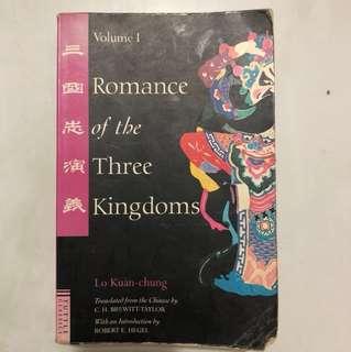 Romance of the three kingdom volume 1
