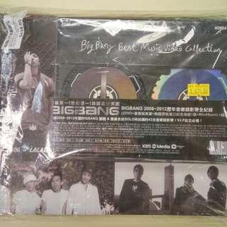 100% 全新未開封 BIGBANG 2006-2012 Best Music Video Collection (2 DVD+豪華寫真集+韓國版記念海報一張 80cm x 45cm)