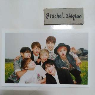 BTS HYYP PART 1 OFFICIAL PHOTOCARD (GROUP)