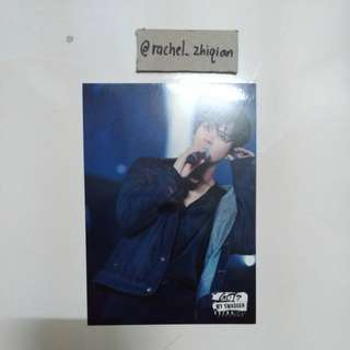 GOT7 JACKSON MY SWAGGER SHOWCASE IN JAPAN POSTCARD