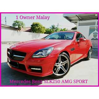2013 Mercedes Benz SLK250 1.8 (A) AMG VERSION