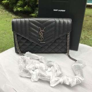 Authentic Saint Laurent Monogram WOC