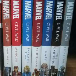 Marvel Civil War Hardcovers (Out of Print)