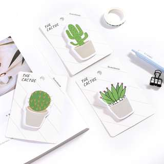 The Cactus Sticky Notes / Memo Pad / Post-it [SN04]