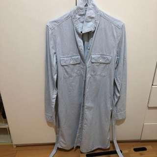 🚚 Gap襯衫洋裝