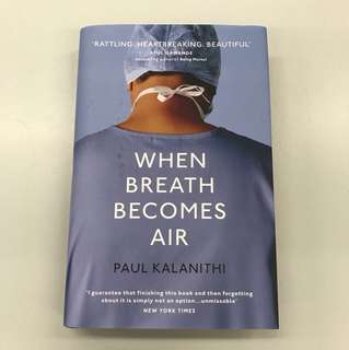 硬皮英文書 When breath becomes air (hardback)