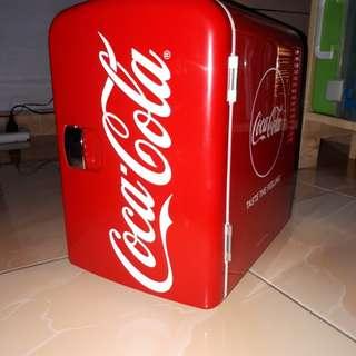 Original Coca Cola Mini Fridge (Portable)