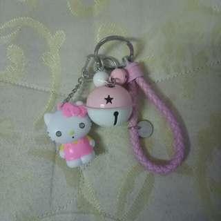 🚚 Hello Kitty 鈴鐺吊飾