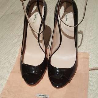 Miu Miu black high heels