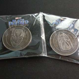 Black Panther 黑豹硬幣
