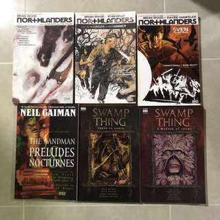 Various Graphic Novels ($8 each)