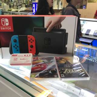 Nintendo switch kredit Aeon/ kredit plus