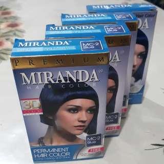 Blue Dye Hair Colour