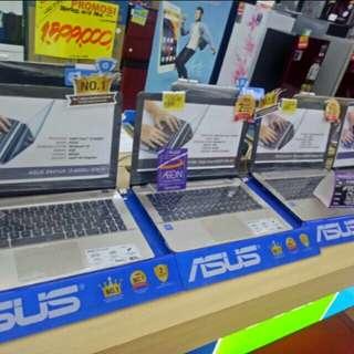 Laptop berbagai merk bisa di cicil free 1x angsuran