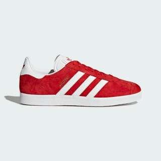 Adidas Gazelle Red White BNIB ORIGINAL