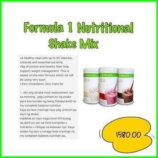 Herbalife Shake With Freebies