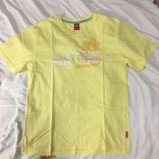 Hush Puppies yellow shirt