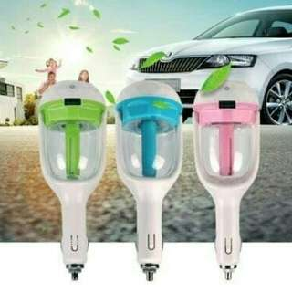 Aromaterapy kreatif humidifier charger mobil