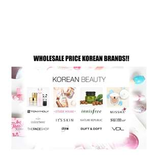 KOREAN BEAUTY PRODUCTS WHOLESALE