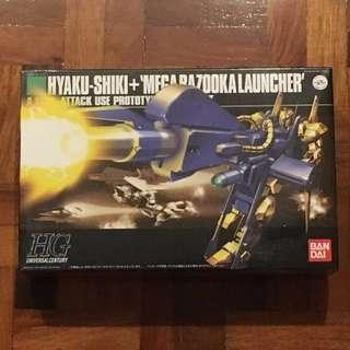 HG Hyaku-Shiki + Mega Bazooka Launcher