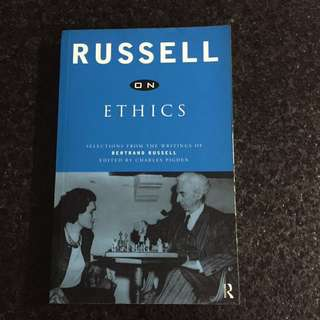 Book- Russell on ethics