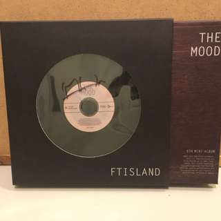 親簽✨FT Island - The Mood 5th Mini album (敏煥簽名)