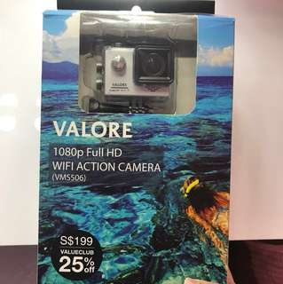 BN Valore 1080p Full HD Wifi Action Camera (VMS506)