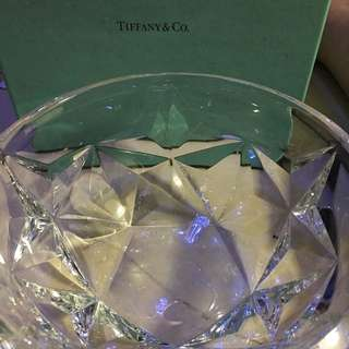Tiffany and Co 水晶盤