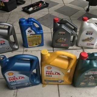 Engine oil and oil filter