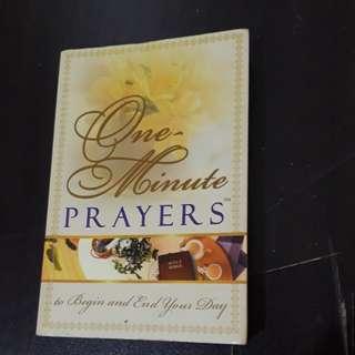 One Minute Prayers