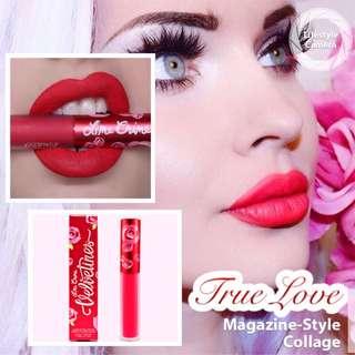 Velvetines Limecrime Matte Liquid Lipstick (True Love)