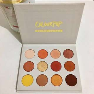 COLOURPOP yes please eyeshadow palette