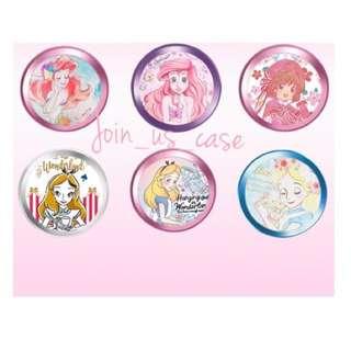 美人魚/愛麗絲/美少女戰士/小櫻指紋貼