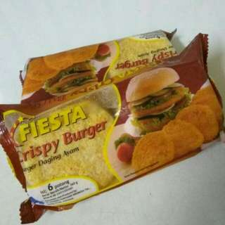 Fiesta crispy burger (fillet ayam)