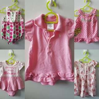 Baby Girl Clothes ( 0-6 mnths )