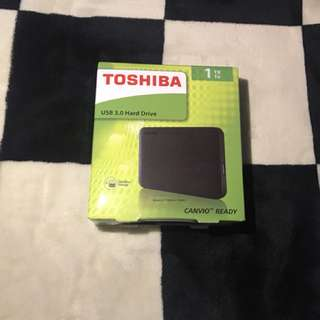 External 1TB USB 3.0 HDD
